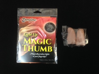 Light up Magic Thumb (Zanadu) - Pairs