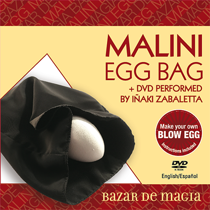 Malini Egg Bag and DVD - Black Bag (Bazar de Magia)