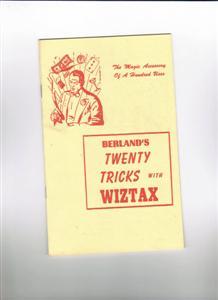 Tricks With Wiztax