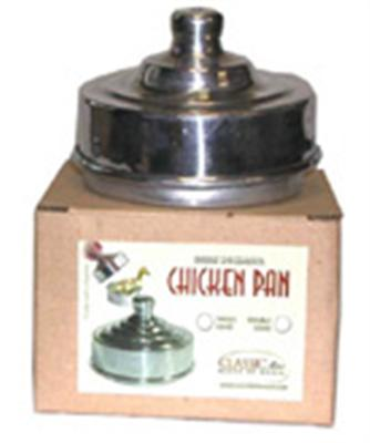Classic Chicken Pan -Single Aluminum- Stage Magic Trick