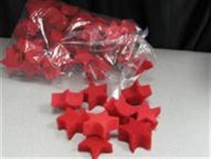 Sponge Stars - Bag of 50 - Magic Trick / Accessory