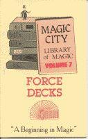 Force Decks Book #7 - Instructional Magic Trick Book