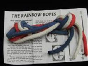Rainbow Ropes -EZ- Parlor Stage / Beginner Magic Trick