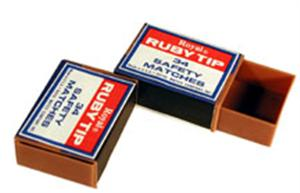 Royal Matchless Matchbox