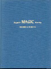 Hugard's Magic Monthly #5 -Vol. 14,15,& 16 - Trick Book