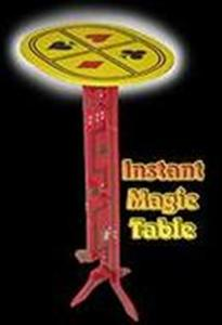 Instant Magic Table - Stage / Magic Tricks / Acces
