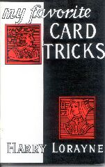 My Favorite Card Tricks -Instructional Magic Trick Book