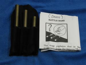 Brass Rattle Bars - General / Close Up / Magic tri