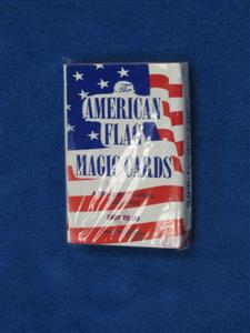American Flag Fanning Deck - Card Magic Trick