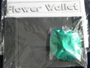 Flower Wallet - Mylar - Close Up / Street / Magic Trick