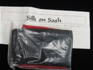 Silk on Sash - Clsoe Up / Parlor / Stage Magic Trick