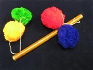 Pom Pom Sticks -SMALL- Kid Show / Beginner Magic T
