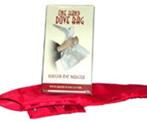 Classic One Hand Dove Bag - Colored Silk - Magic Trick