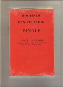 ROUTINED MANIPULATIONS - FINALE - Magic Trick Book