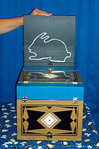 Bunny Box -Deluxe - Animal / Kid Show Stage Magic