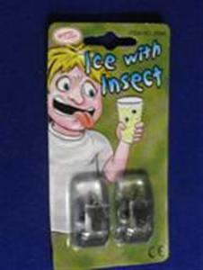 ICE CUBE WITH INSECT - Joke / Prank / Gag Gift
