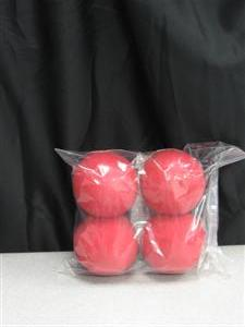 Sponge Balls: Goshman Set of 4 Balls & Routine:3""