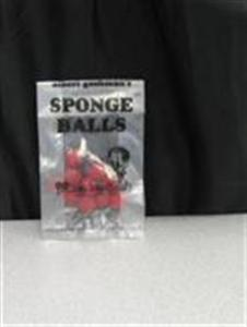 "Sponge Balls - Goshman - 3/8"" Micro Mini - Red"