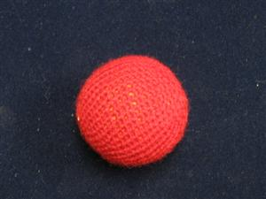 "Handknit Balls: 2"" - Plain Single - Magician Accessory"