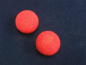 "Chop Cup Balls 1"" (FT) Set of 2 - Magician Accessory"