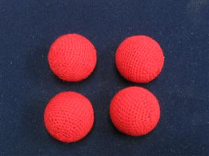 "Chop Cup Combo Balls 1""- Set of 4 - Magician Accessory"