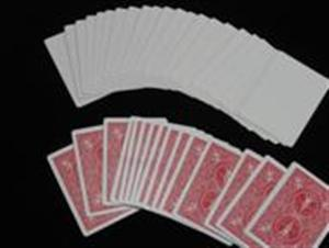 Utility Decks: BLANK FACE - Bicycle Poker - Magic Trick