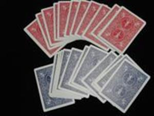 Utility Decks: DOUBLE BACK -Bicycle Poker- Magic Trick