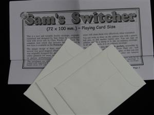 Sam's Switcher #4 (Playing Card) - Magician Accessory