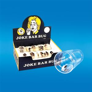 BAR BUG ICE CUBE (box of 36) - Prank  / Creepy Crawly Joke Magic Trick