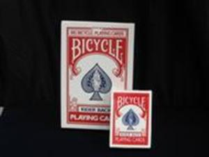 Jumbo Bicycle Cards RED