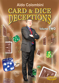 COLOMBINI CARD AND DICE DECEPTIONS Instructional DVD #2