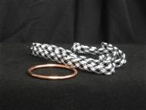 Magic Ring & Magnetic Rope -#5752- PROMO / Magic Trick