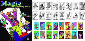 Coloring Book- Magic - Stage / Beginner Magic Trick