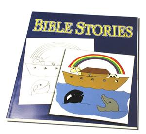 Royal Bible Stories Coloring Book