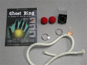 Ghost Ring - The Ultimate PK Ring and Accessory Kit - Large Gold