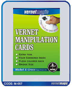 VERNET Manipulation Cards - Magic Trick - REGULAR