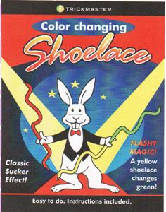 Color Changing Shoelaces - Tm