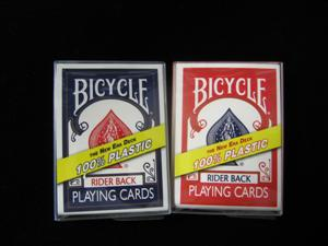 BICYCLE - NEW ERA DECK 100% Plastic - Card Magic T