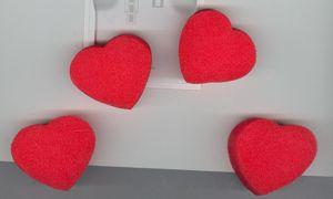 Multiplying Sponge Hearts