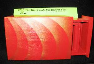 CANDY BAR DRAWER BOX - Stage / Close Up / Kid Show / Illusion Magic Trick