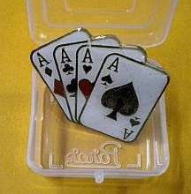 Magicians Lapel Pin 4 Aces – Ft