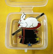 Magicians Lapel Pin Rabbit In Hat – Ft