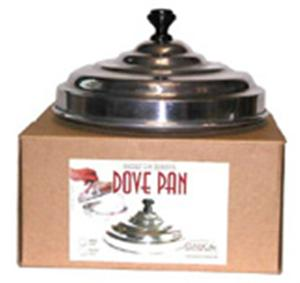 Classic Dove Pan - Single Aluminum - Stage Magic Trick