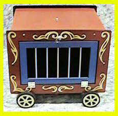 Circus Wagon - Animal / Stage / Kid Show Magic Trick