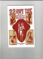 Thirty Three Rope Ties And Chain Releases