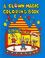 "Clown Coloring Book - Dummy Blank - 8.5"" x 11"""