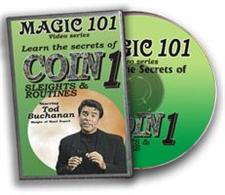 Magic 101, Coin Sleights - DVD