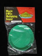 Magic Coin Multiplying Saucer #5481