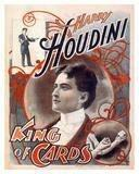 Posters - Houdini - King Of Cards