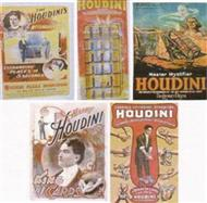 Posters - Houdini Poster Set Of 5